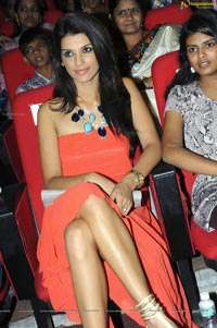 Gabriela Bertante at Devudu Chesina Manushulu Audio Release Function