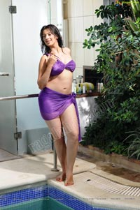 Lakshmi Rai in Bikini - High Resolution Posters