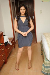 Nikeesha Patel in Sleeveless Short Frock