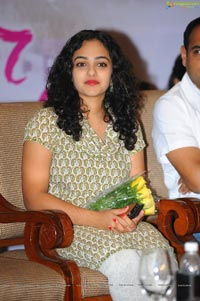 Nithya Menen at Ishq 100 Days Celebrations