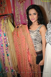 Actress Faith at D'sire Exhibition n Sale, Hyderabad