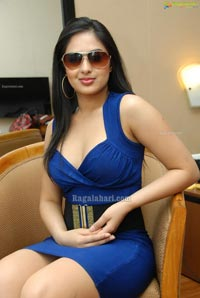 Hot Nikeesha Patel in Sleeveless Frock