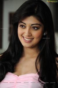 Photos of Praneetha in Sleeveless Pink Dress