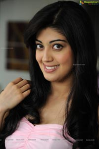 Photos of Praneetha in Sleeveless Pink Dress
