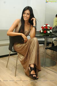 Hot Model Sadhana Singh at Audi Q3 Launch