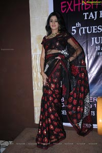 Hyderabad Model Shamili at D'sire Exhibition Curtain Raiser
