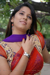 Telugu Girl Shravya Reddy