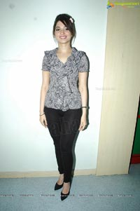 Tamanna in Black Leggings