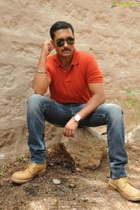 Photos of Uday Kiran's Police Haircut