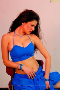 Menaka Spicy Saree Stills
