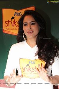 Sameera Reddy P&G Shiksha Diwas
