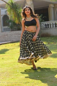 Hebah Patel Black Dress