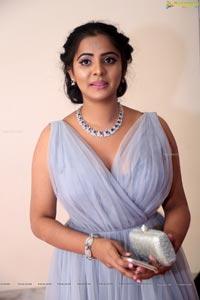 Manasa Himavarsha at Katamarayudu Pre-Release Function