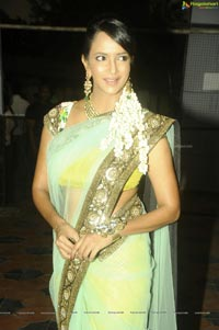 Gorgeous Lakshmi Prasanna in Saree at UKUP Audio Release Function