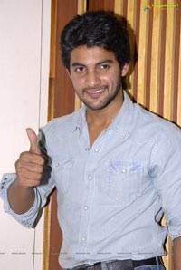 Hero Pudipeddi Aadi at Lovely Press Meet
