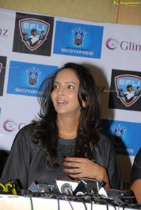 Elite Football League India Ambassador Lakshmi Prasanna