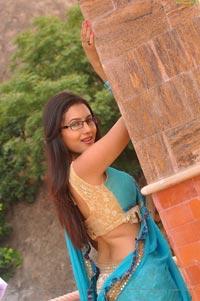 Anusmriti Sarkar in Half Saree