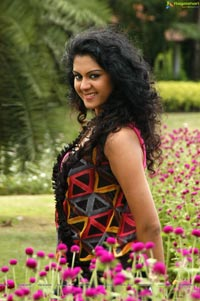Kamna Jethmalani in Colorful Dress