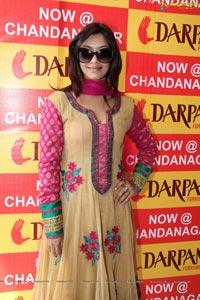 Payal Ghosh at Darpan Furnishings