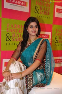 Indian Runway Model Shamili in Langa Voni
