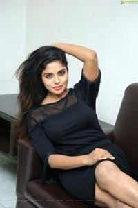 Actress Karunya Chowdary