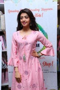 Pranita Subhash Pink Dress