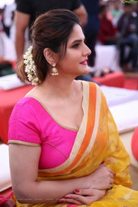 Zarine Khan in Saree