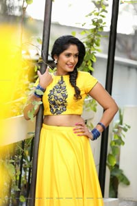 Sowmya Venugopal Yellow Dress