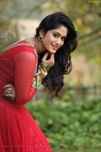Sowmya Venugopal Red Dress