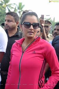 Sania Mirza NDTV Walk for Fitness
