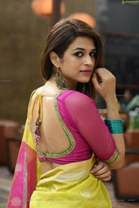 Shraddha Das in Saree