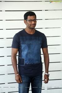 Vishal at Detective Press Meet