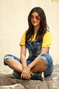 Pooja Jhaveri in Denim Jumpsuit