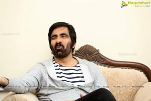 Ravi Teja at Amar Akbar Anthony Interview