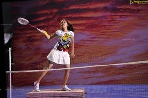 Taapsee in Tennis Skirt