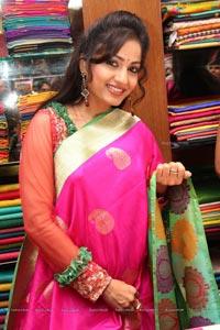 Madhavilatha in Saree