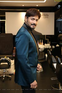 Kaushal Manda at Hair Crush Salon