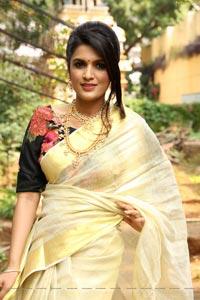 Ritu Biradar at Silk & Cotton Expo 100th Exhibition Curtain