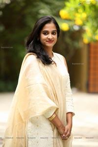Nanditha Raj at Viswamitra Teaser Launch