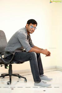Vishal at Pandem Kodi 2 Interview