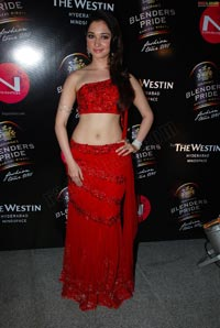 Tamanna at Blenders Pride Fashion Tour 2011
