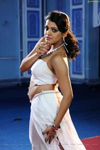 Tashu Kaushik in Glamorous White Dress