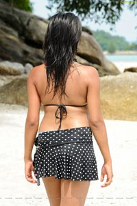 Tashu Kaushik Beach Mini Skirt