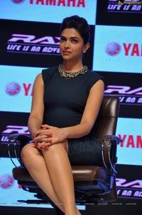 Yamaha Brand Ambassador Deepika Padukone