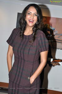 Lakshmi Prasanna at Praveen Jagarlamudi Art Exhibition